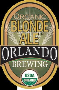 Orlando Brewing, Beers, Blonde Ale, Craft Beer, Organic, Non-GMO, Orlando