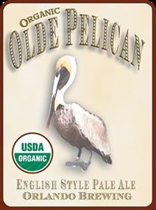 Orlando Brewing, Beers, Olde Pelican, Craft Beer, Organic, Non-GMO, Orlando