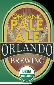 Orlando Brewing, Beers, Pale Ale, Craft Beer, Organic, Non-GMO, Orlando