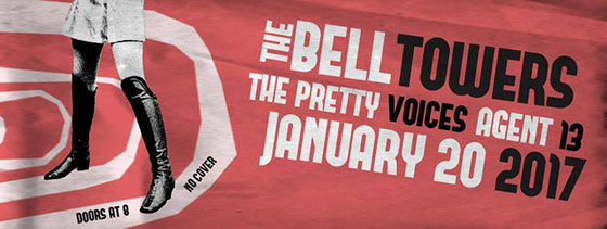 Free Show Orlando, Live Music Orlando, The Bell Towers, The Pretty Voices, Agent 13 Band, Orlando Brewing